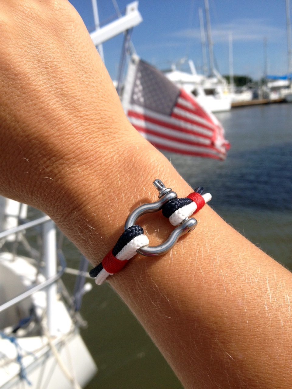 Limited Edition Team USA Womens World Cup Nautical Bracelet